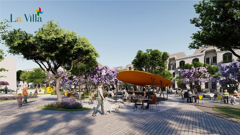 7 chấm dấn tiến đánh thành ra sự dị biệt mực dự án Lavilla Green City